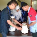 Praktik elektronika di Puncak, Bogor