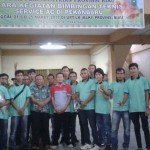 Peserta pelatihan AC di Pekanbaru