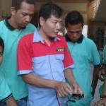 Kegiatan pelatihan di Pekanbaru